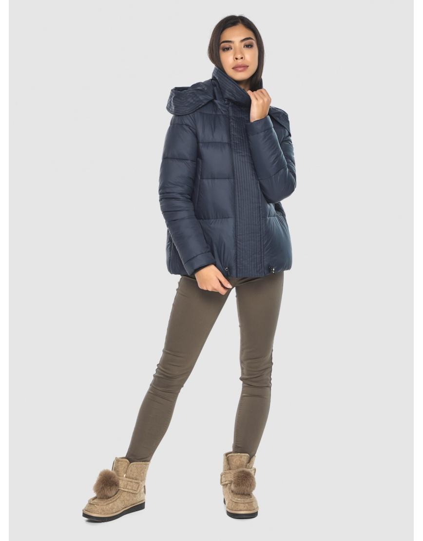 Куртка стильная зимняя Moc на подростка синяя M6981 фото 1