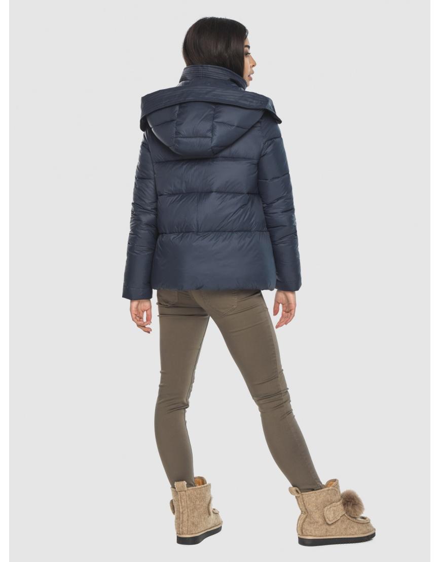 Куртка стильная зимняя Moc на подростка синяя M6981 фото 4