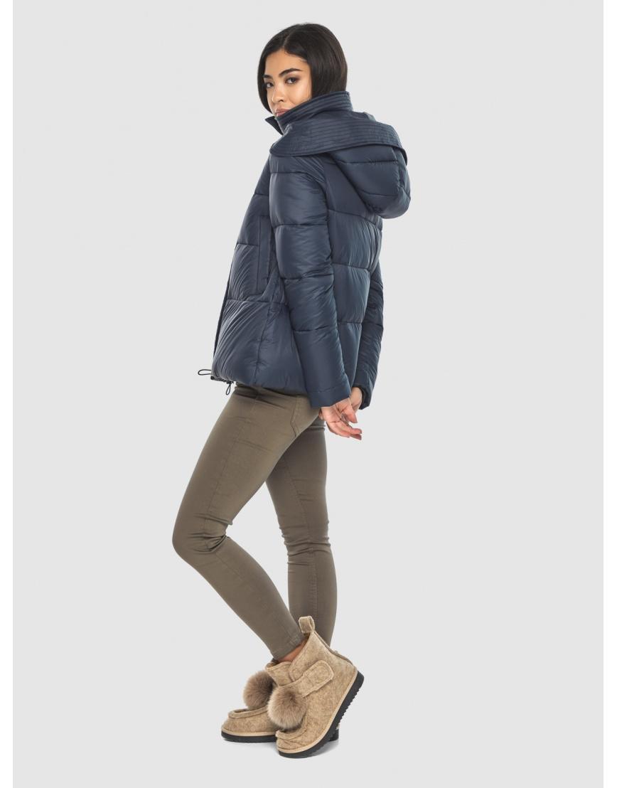 Куртка стильная зимняя Moc на подростка синяя M6981 фото 3
