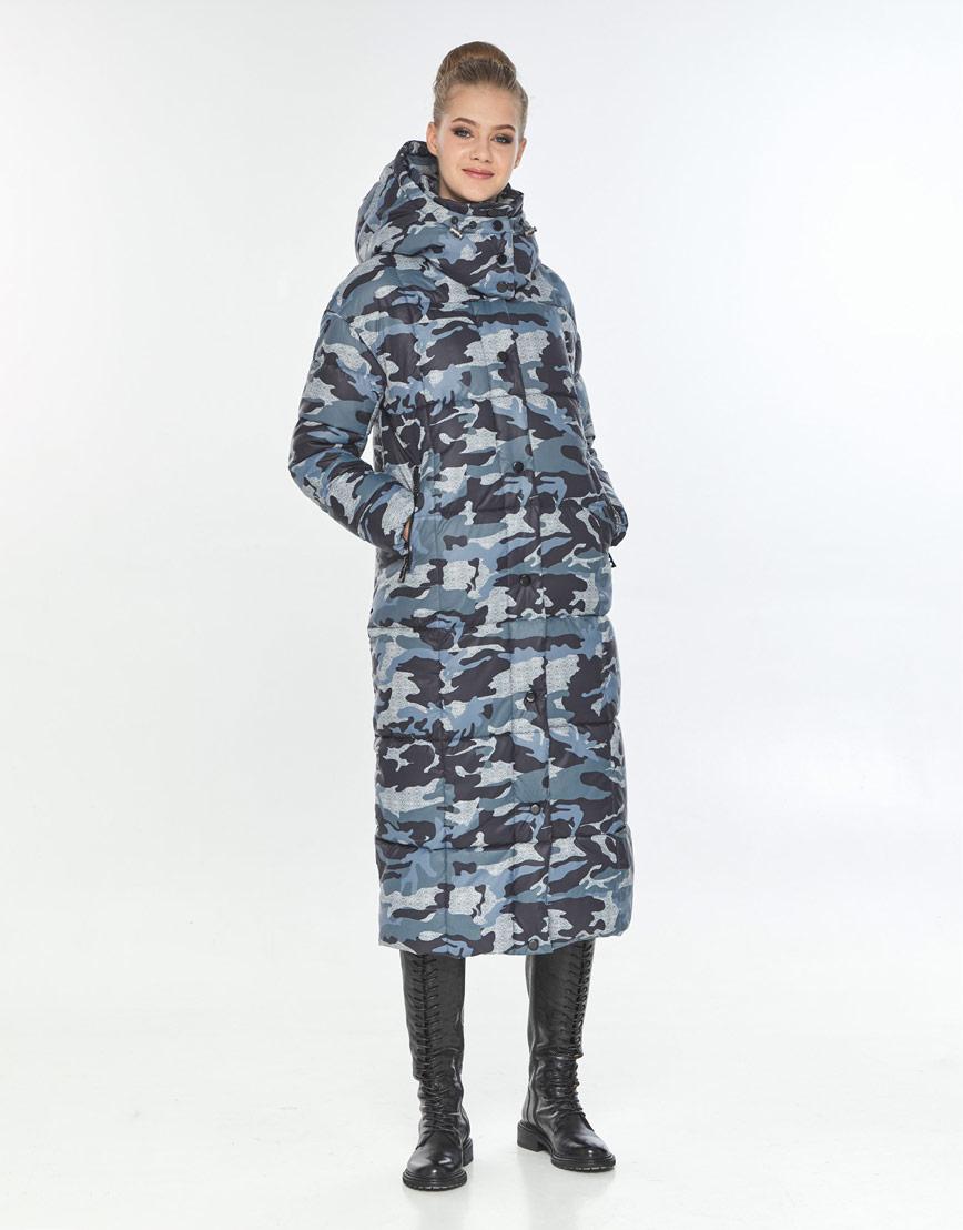 Оригинальная куртка большого размера с рисунком женская Tiger Force TF-50247 фото 2