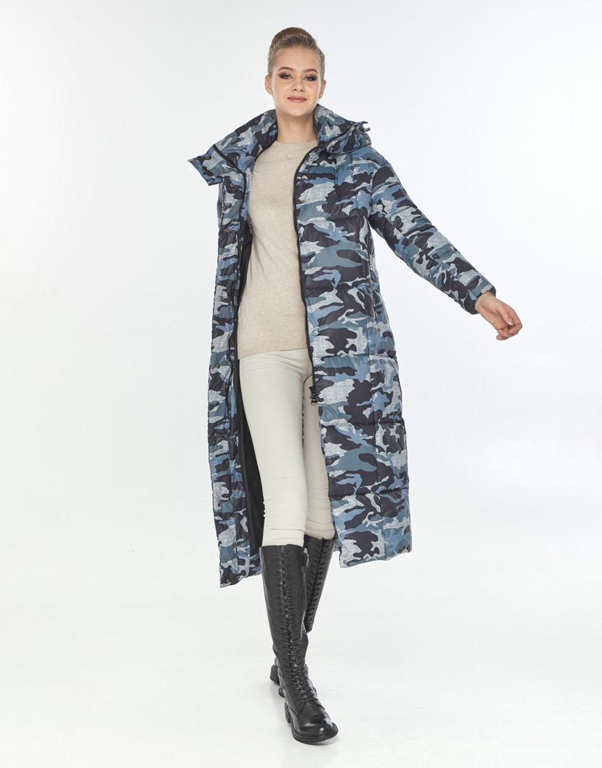 Оригинальная куртка большого размера с рисунком женская Tiger Force TF-50247 фото 1