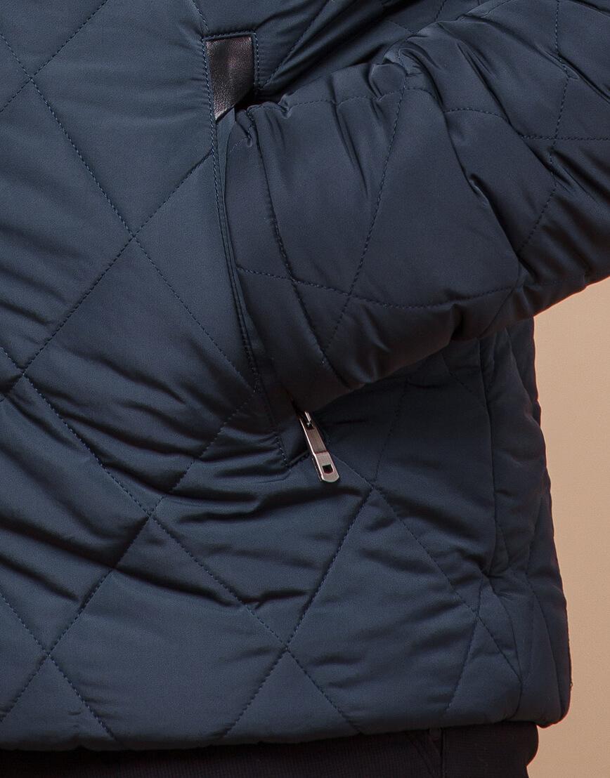 Светло-синяя куртка зимняя мужская модель 19121 оптом фото 5