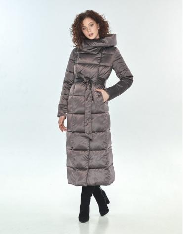 Капучиновая фирменная куртка большого размера Moc женская M6321 фото 1