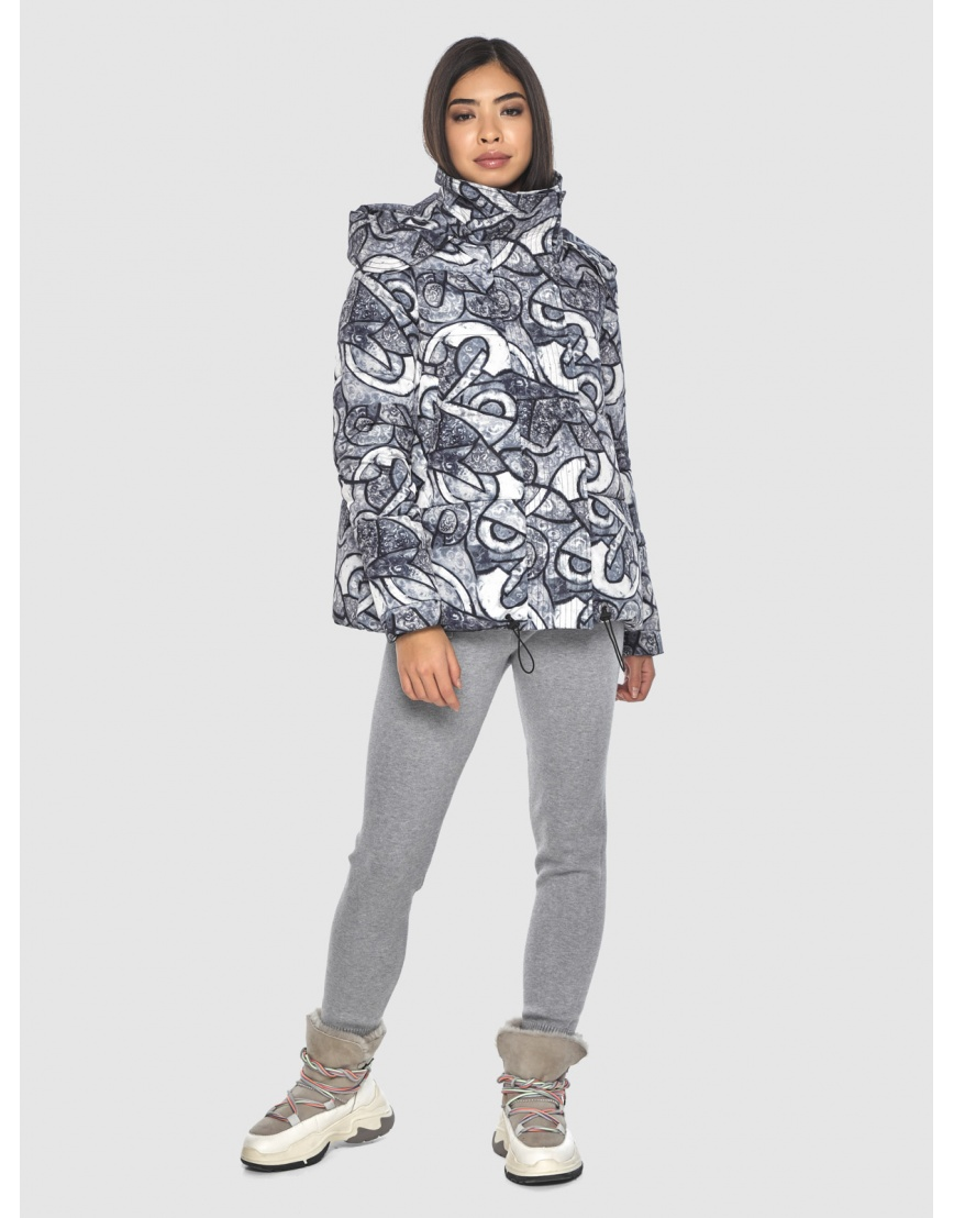 Зимняя люксовая куртка подростковая Moc с рисунком M6981 фото 1