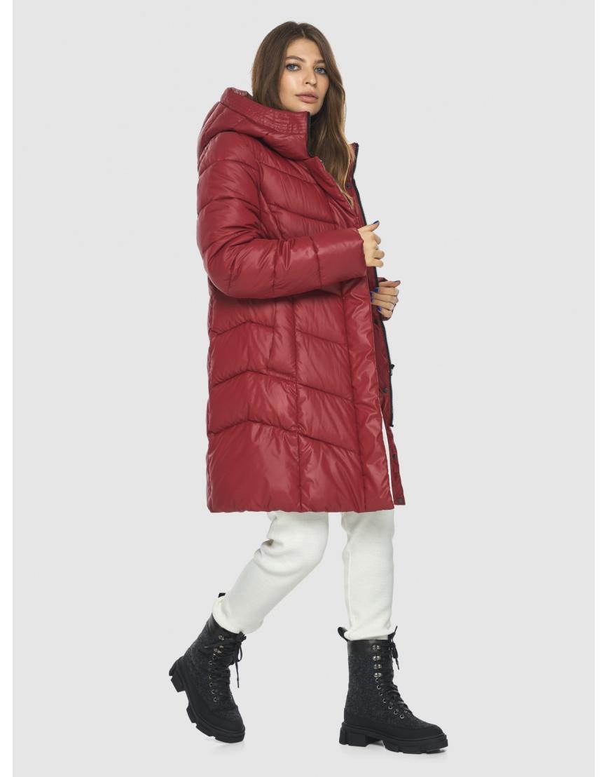 Куртка Ajento красная трендовая женская 22857 фото 3