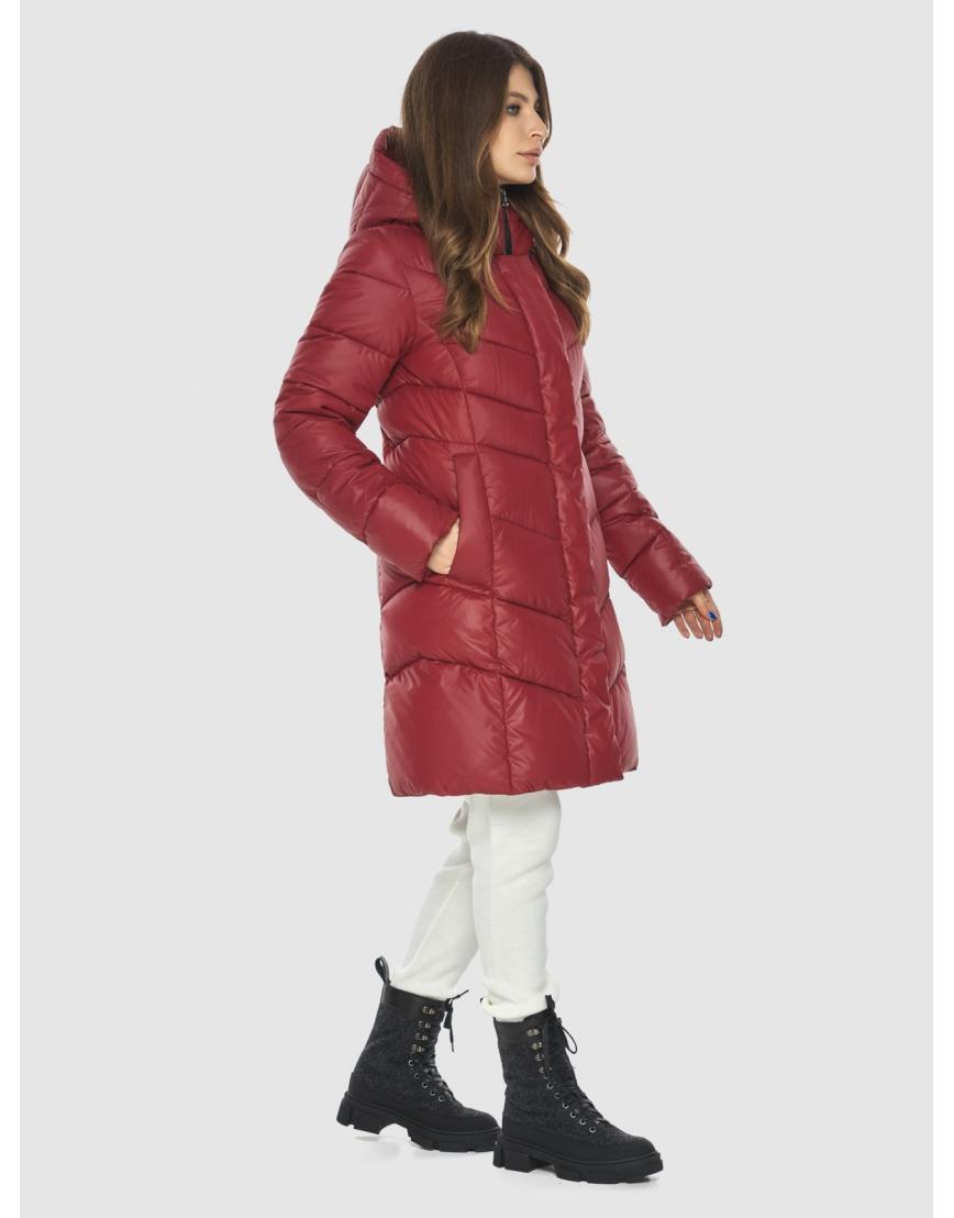 Куртка Ajento красная трендовая женская 22857 фото 5