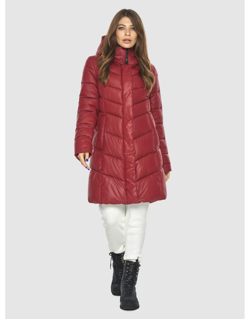 Куртка Ajento красная трендовая женская 22857 фото 1