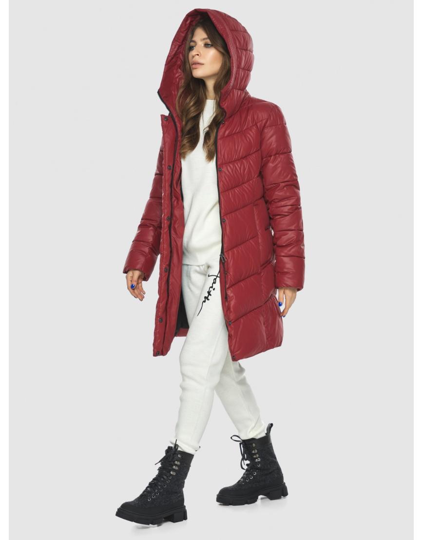 Куртка Ajento красная трендовая женская 22857 фото 2