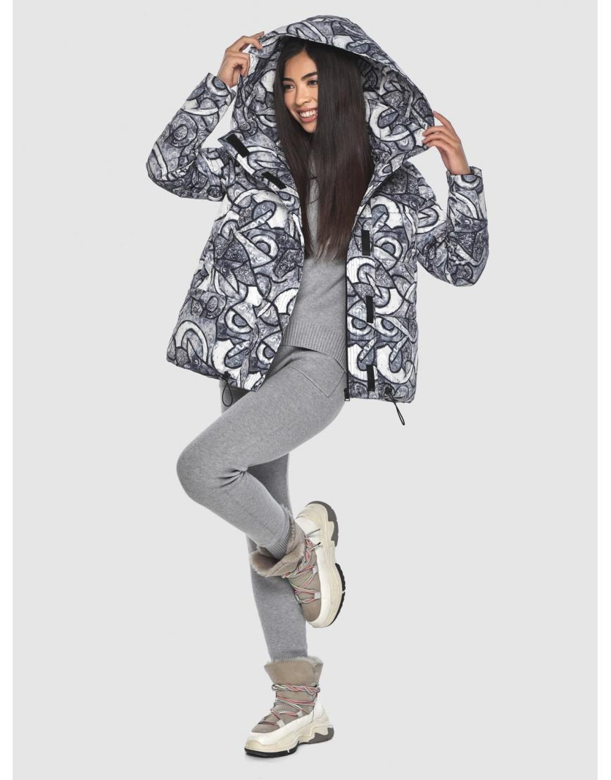 Зимняя люксовая куртка подростковая Moc с рисунком M6981 фото 2