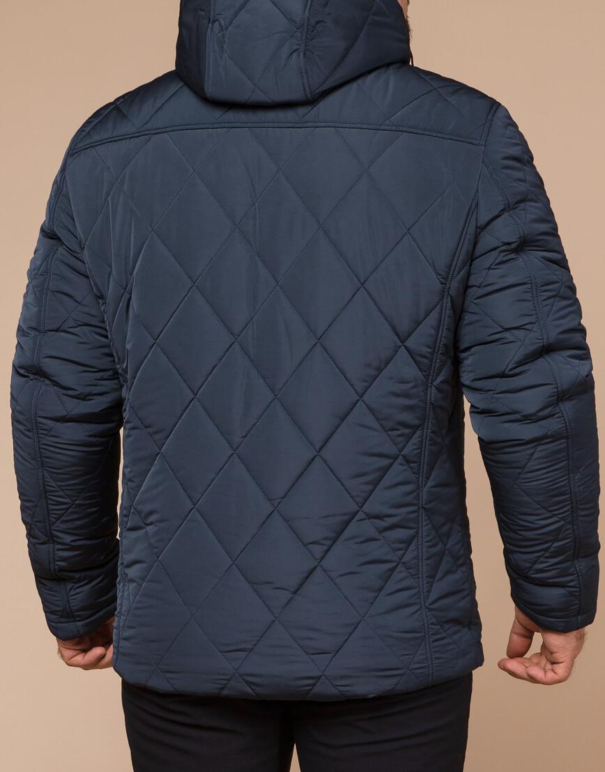 Светло-синяя куртка зимняя мужская модель 19121 оптом фото 3