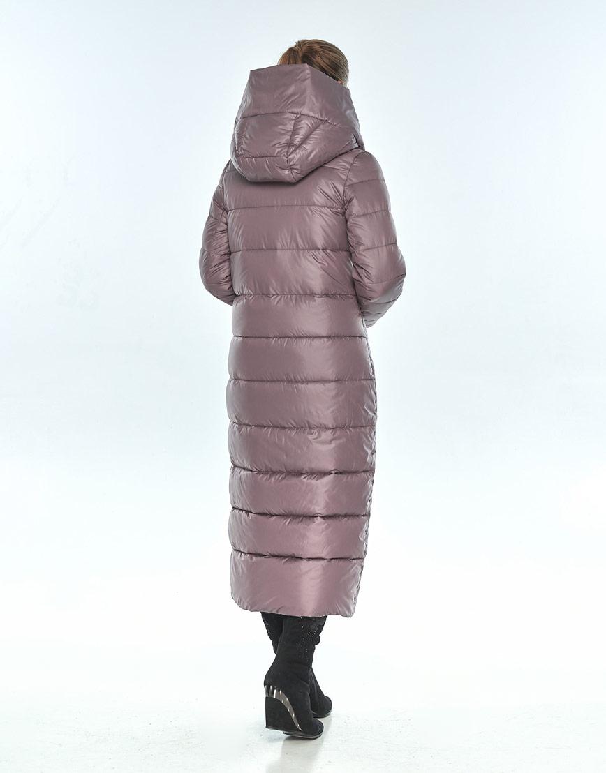 Пудровая куртка Ajento женская с карманами зимняя 23046 фото 3