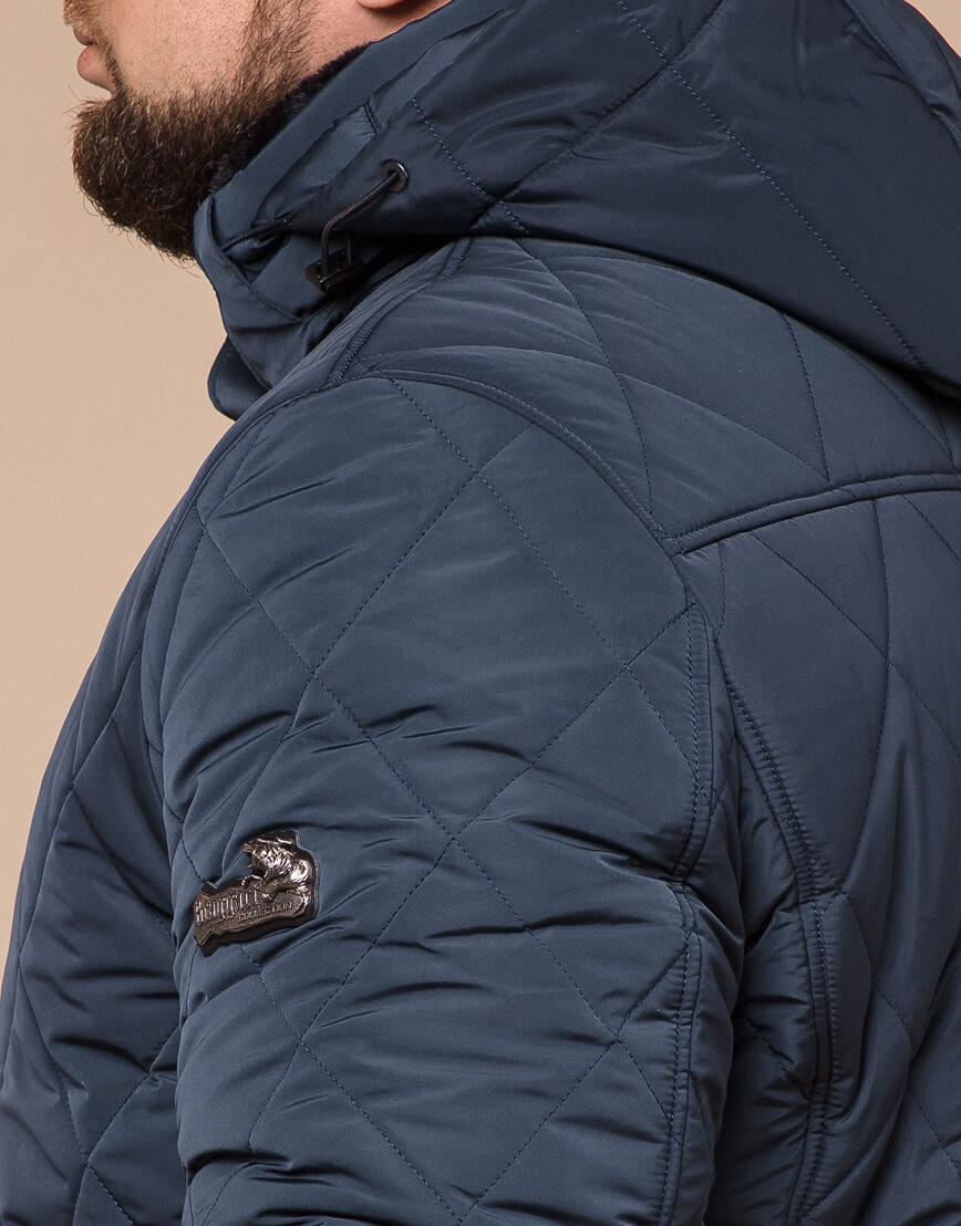 Светло-синяя куртка зимняя мужская модель 19121 оптом фото 6