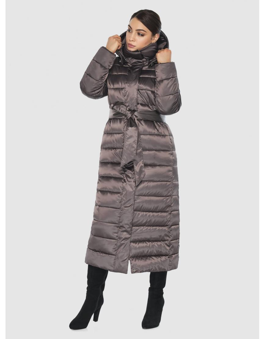Куртка Wild Club женская прямого силуэта капучиновая 524-65 фото 1