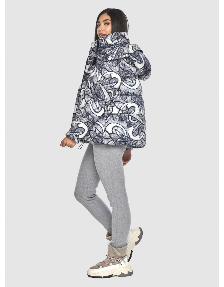 Зимняя люксовая куртка подростковая Moc с рисунком M6981 фото 3