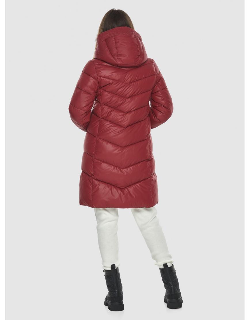 Куртка Ajento красная трендовая женская 22857 фото 4