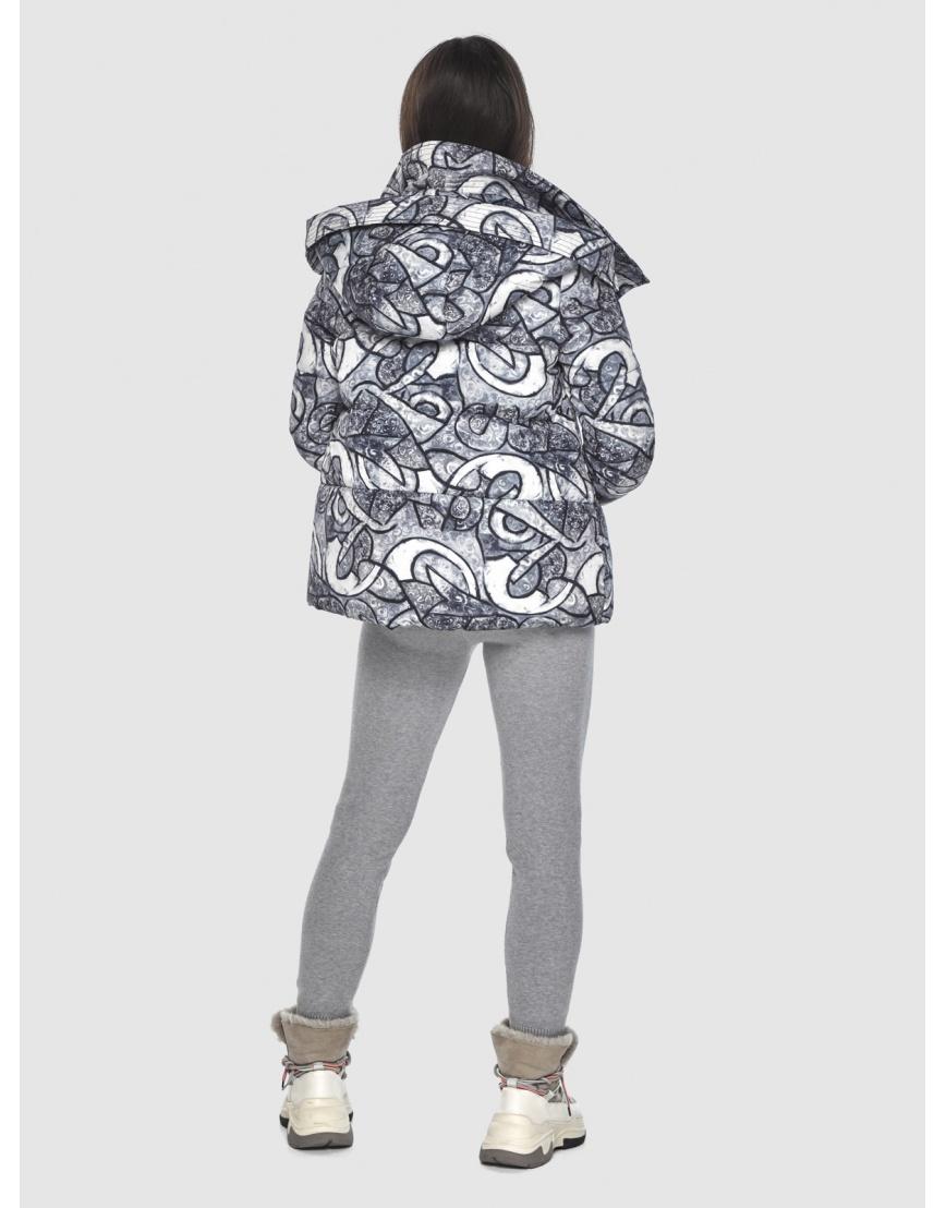Зимняя люксовая куртка подростковая Moc с рисунком M6981 фото 4