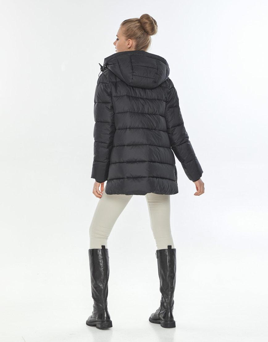 Куртка женская Tiger Force короткая чёрная удобная TF-50264 фото 3