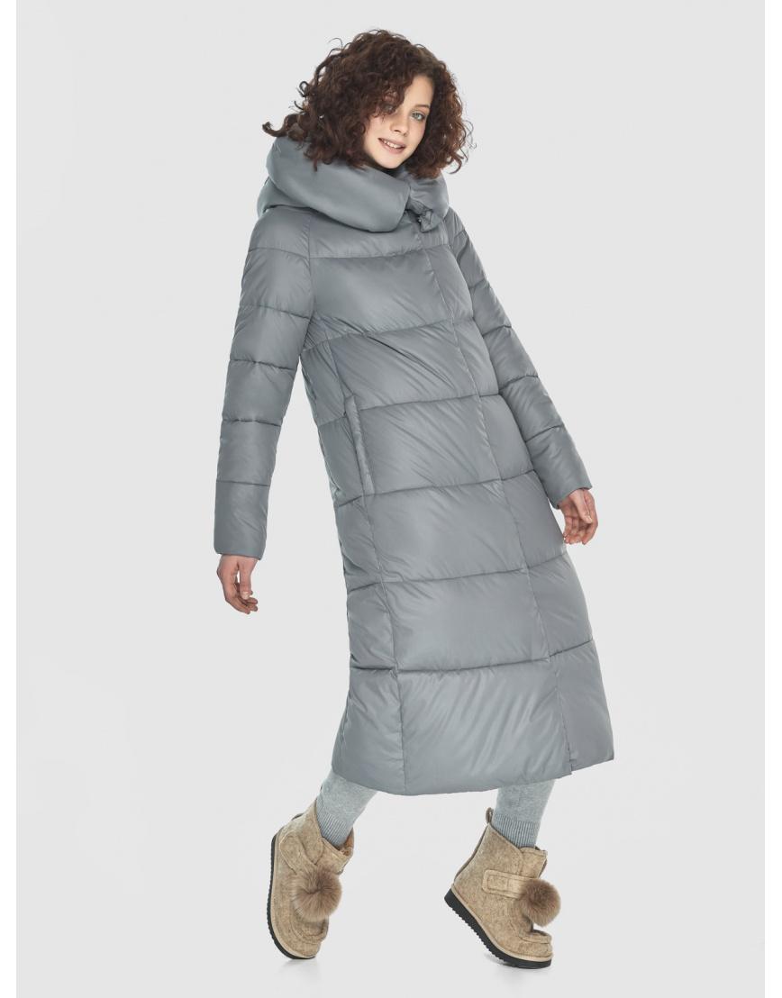 Куртка-пальто Moc подростковая зимняя серая M6530 фото 1