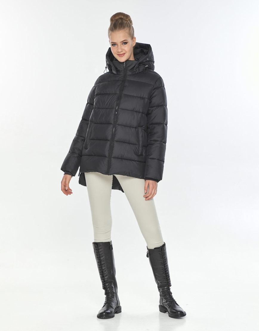 Куртка женская Tiger Force короткая чёрная удобная TF-50264 фото 1