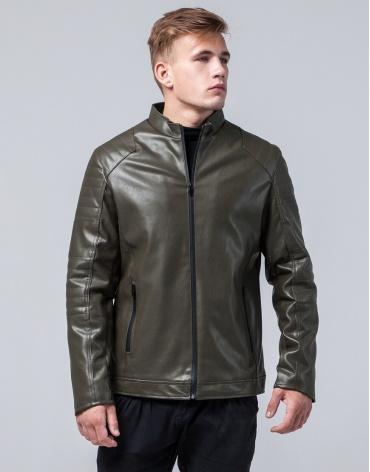 Куртка высококачественная молодежная цвет хаки модель 4327 фото 1