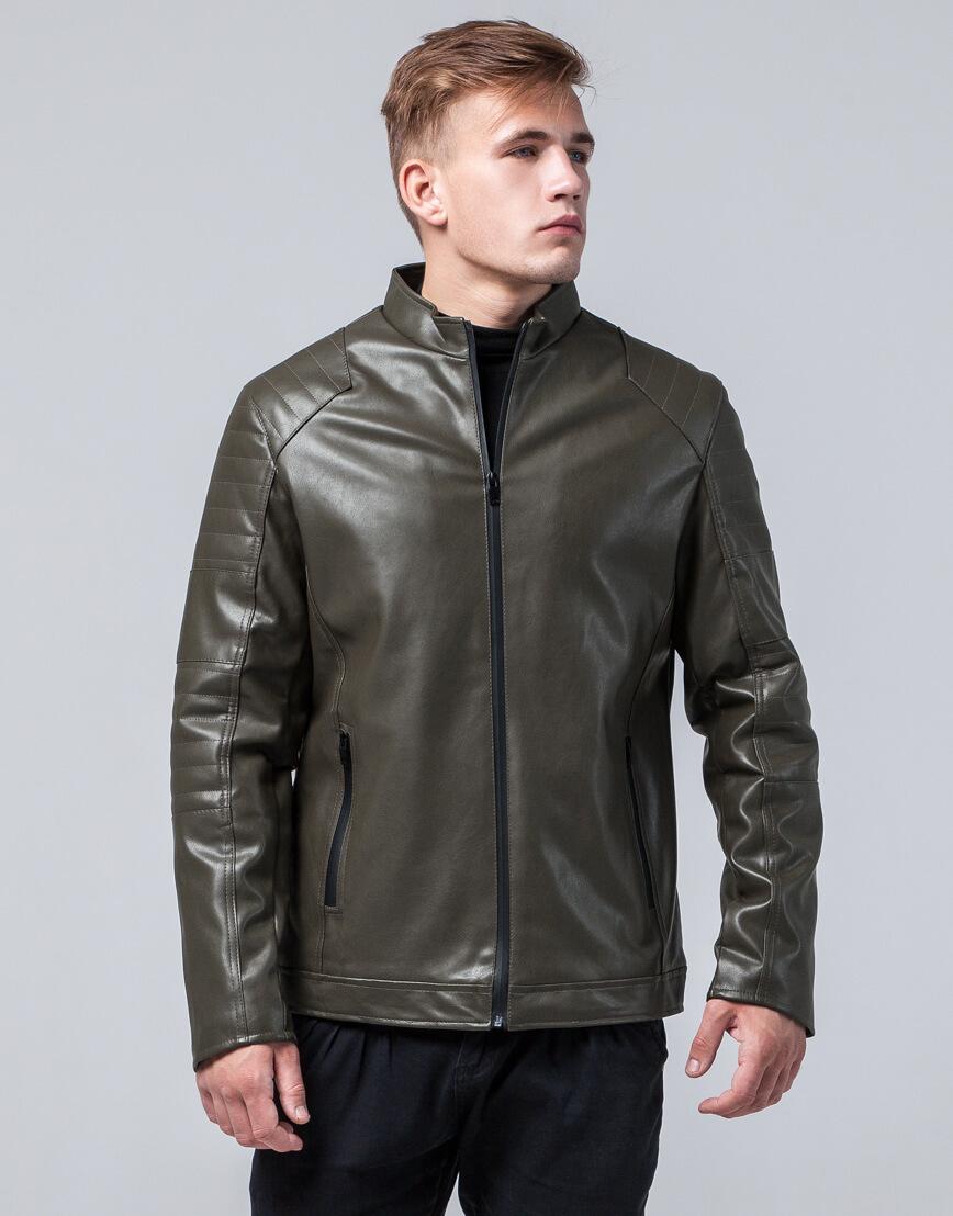 Куртка высококачественная молодежная цвет хаки модель 4327