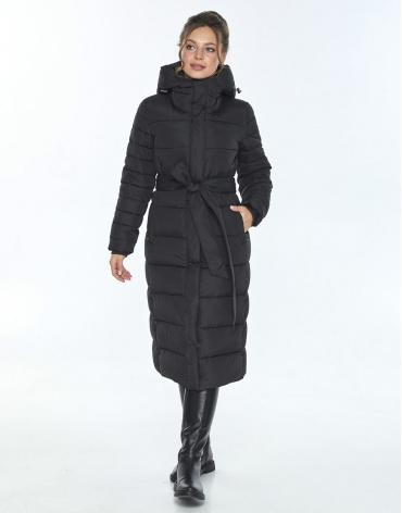 Женская куртка Ajento длинная чёрная 21152 фото 1