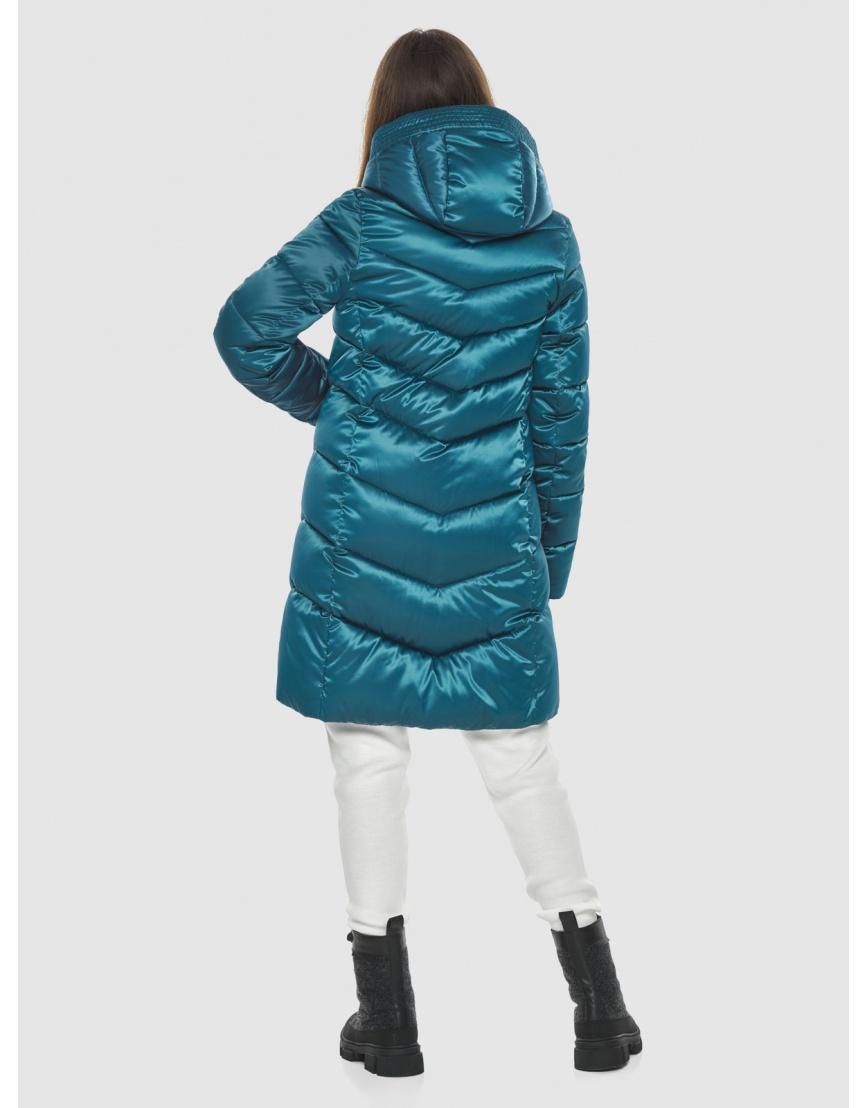 Оригинальная аквамариновая куртка Ajento женская 22857 фото 4