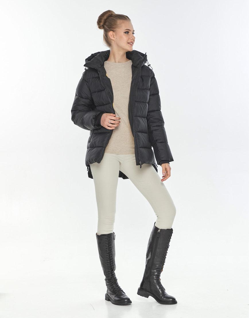 Куртка женская Tiger Force короткая чёрная удобная TF-50264 фото 2