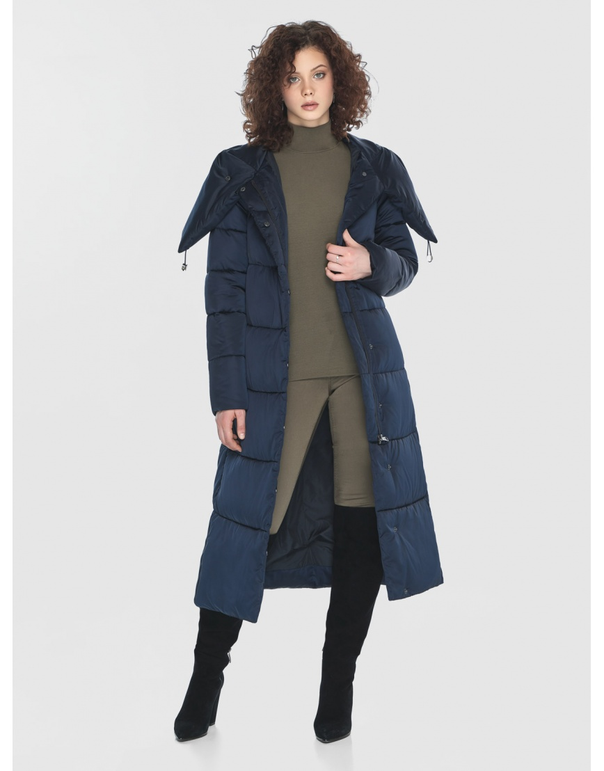 Синяя куртка подростковая зимняя Moc M6530 фото 6