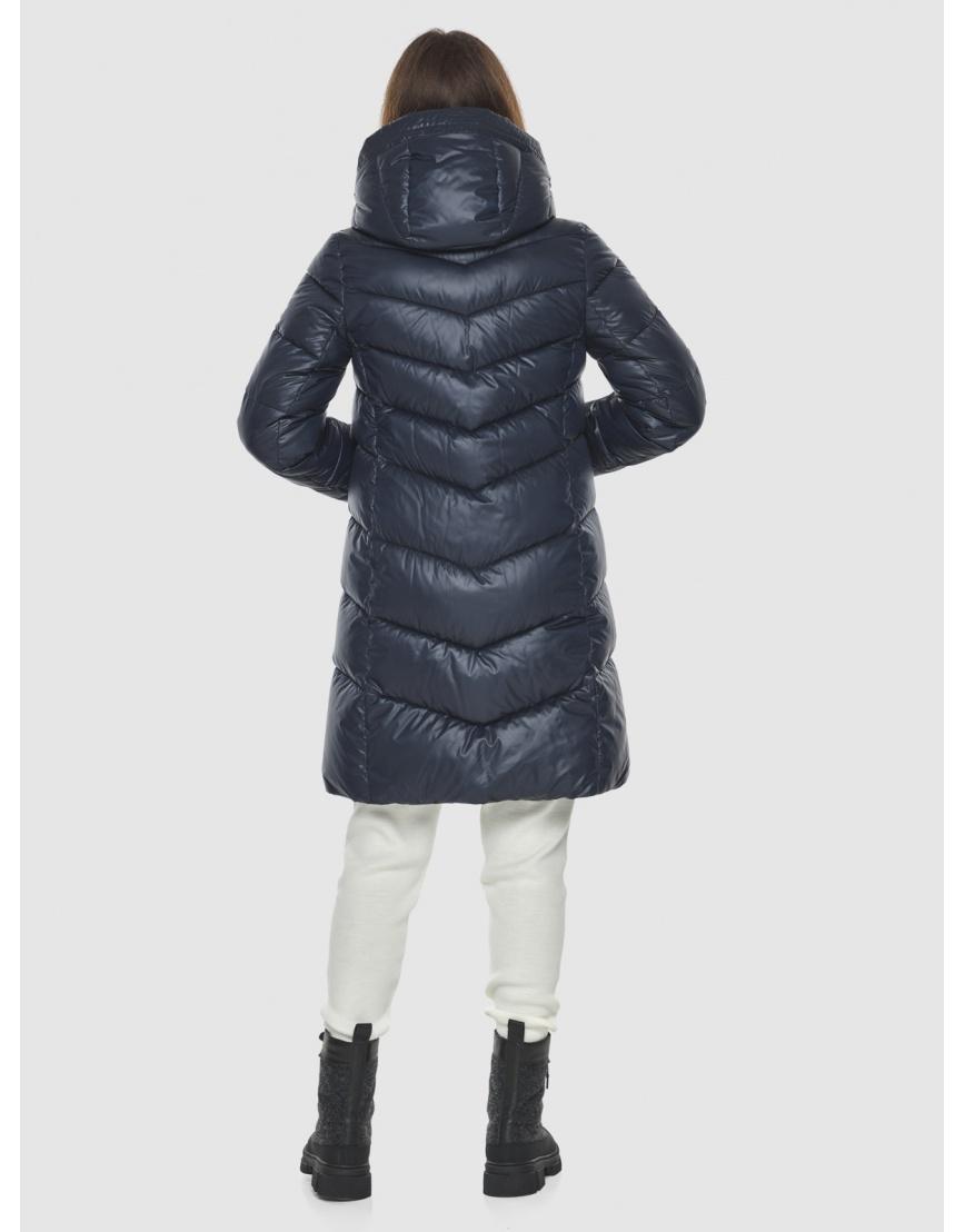 Удобная куртка синяя женская Ajento 22857 фото 4