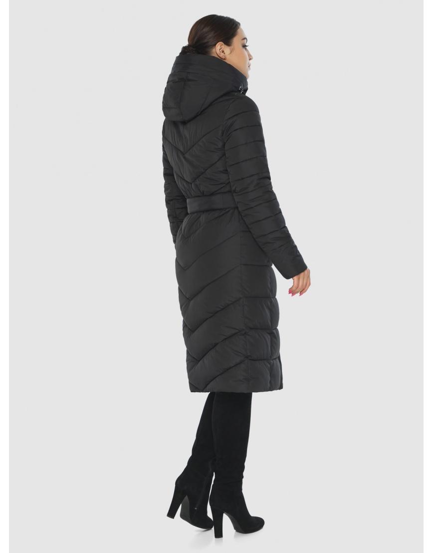 Куртка Wild Club женская прямого кроя чёрная 538-74 фото 4