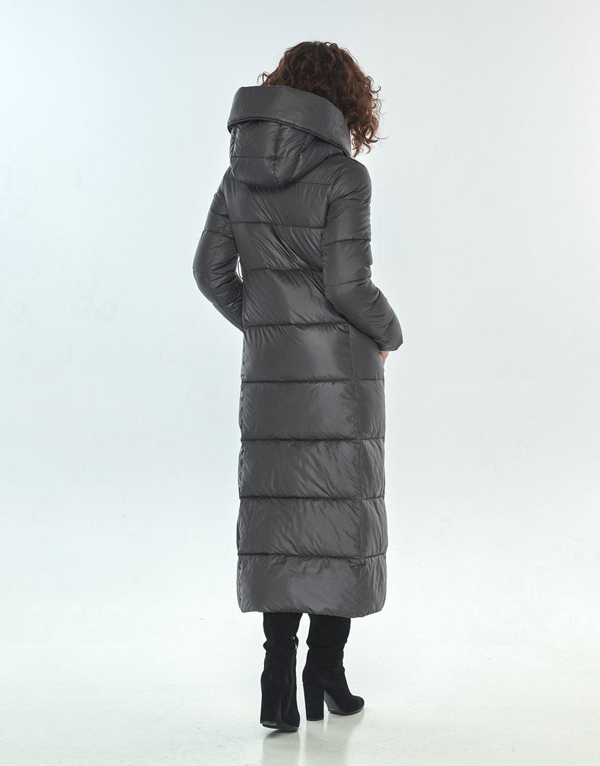 Оригинальная куртка большого размера Moc женская серая M6321 фото 3