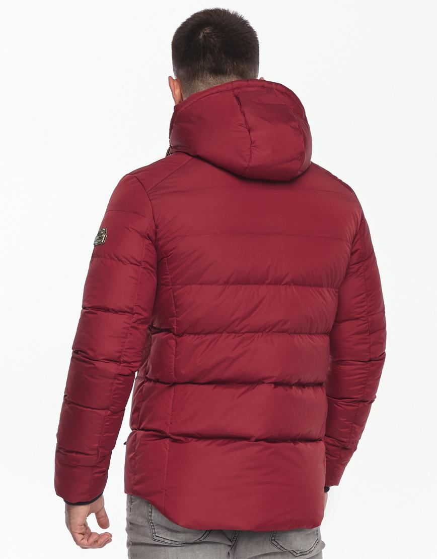 Красная куртка удобного фасона модель 35048