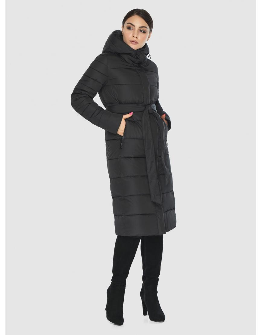 Куртка Wild Club женская прямого кроя чёрная 538-74 фото 3