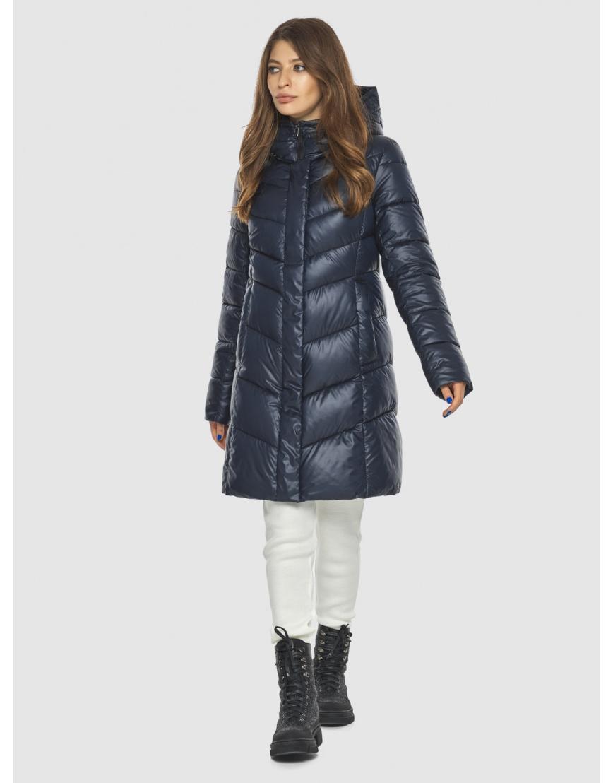 Удобная куртка синяя женская Ajento 22857 фото 1