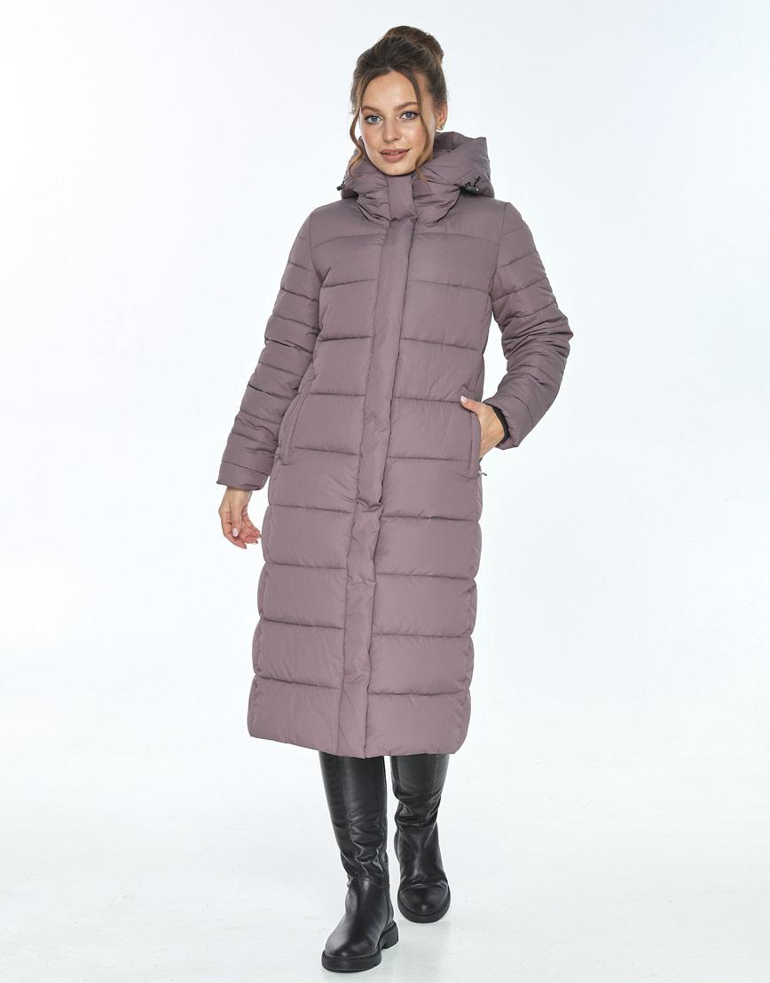 Куртка с поясом женская Ajento цвет пудра 21152 фото 2