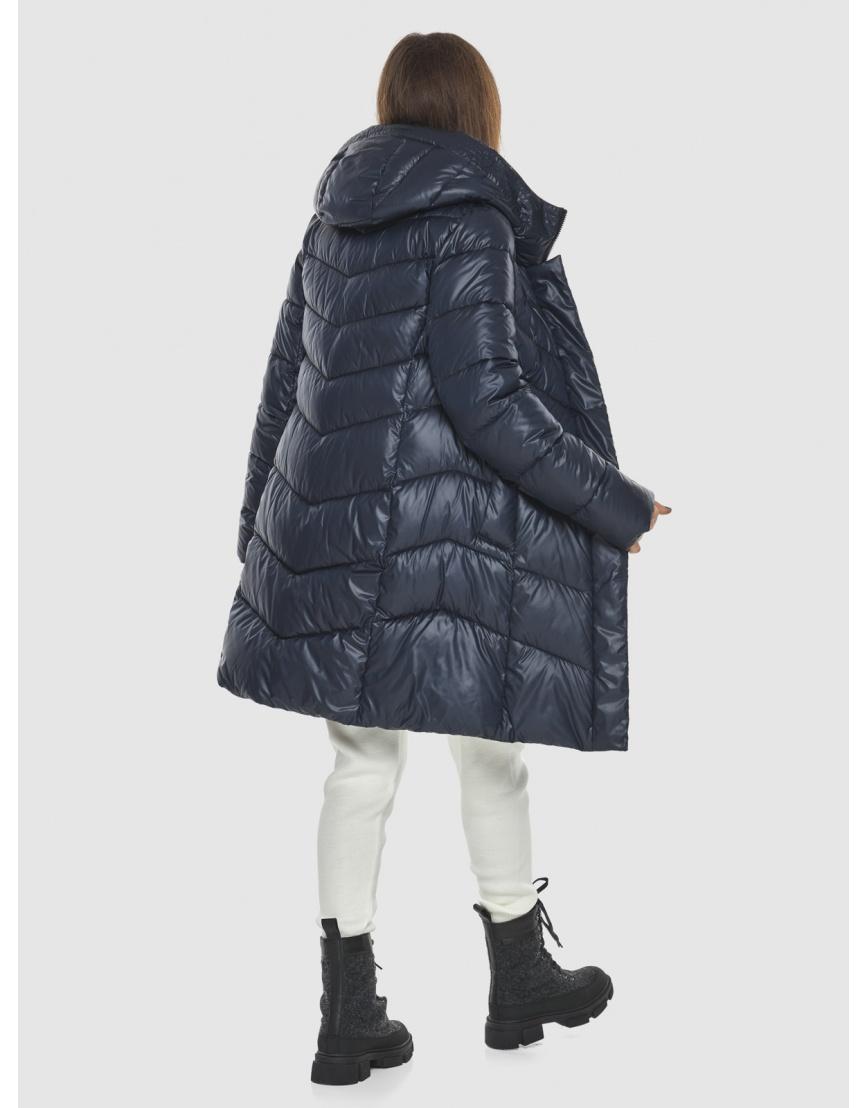 Удобная куртка синяя женская Ajento 22857 фото 2