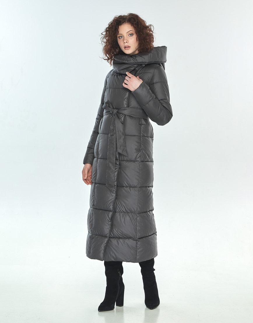Оригинальная куртка большого размера Moc женская серая M6321 фото 1