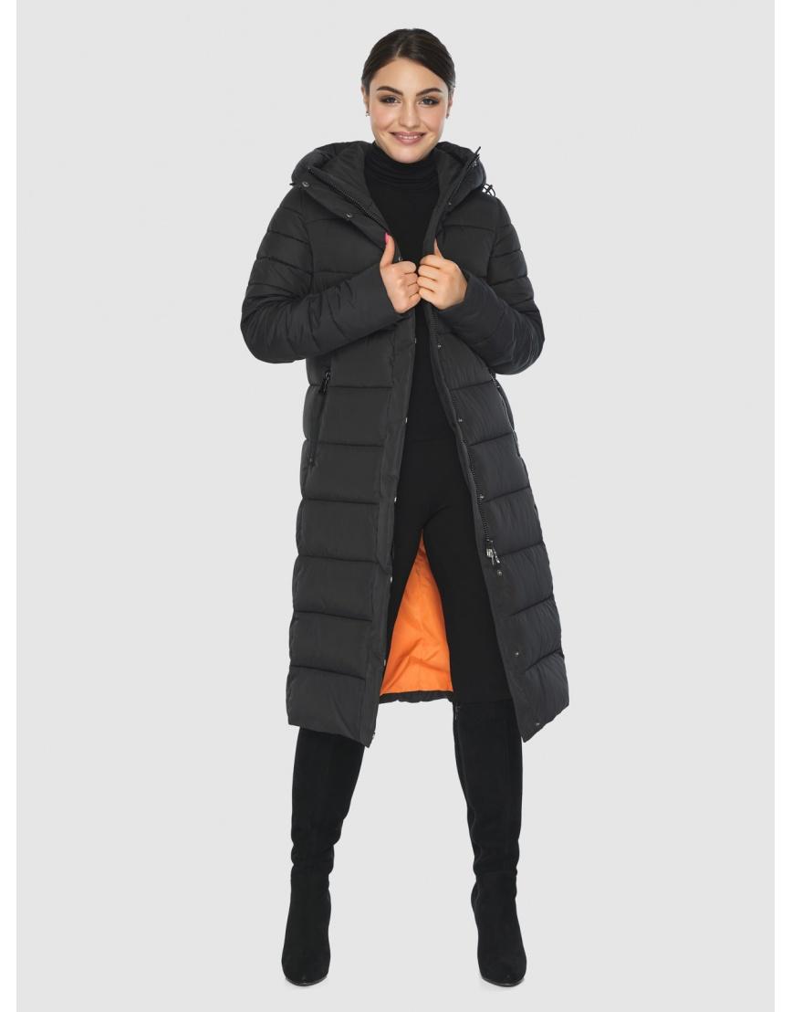 Куртка Wild Club женская прямого кроя чёрная 538-74 фото 2