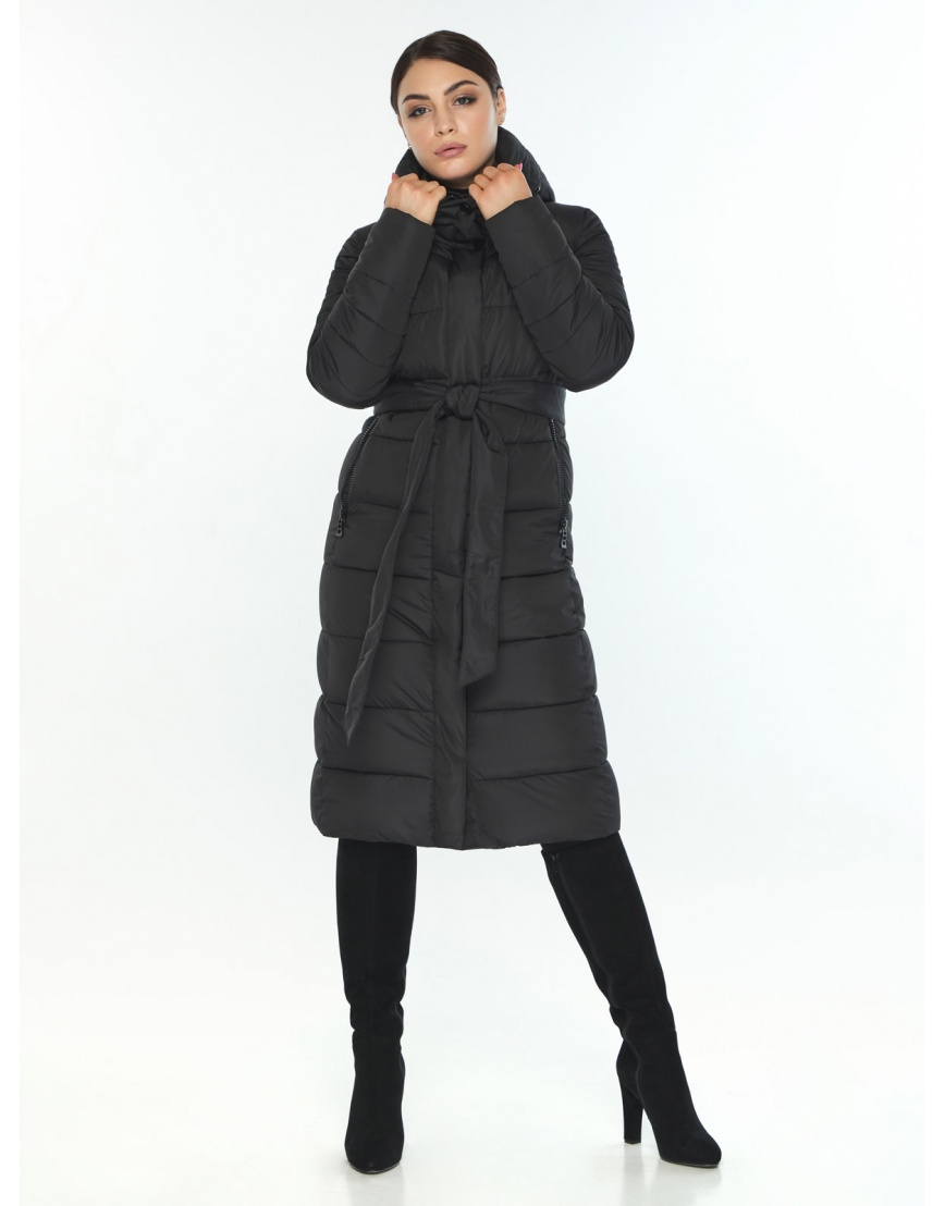 Куртка Wild Club женская прямого кроя чёрная 538-74 фото 5