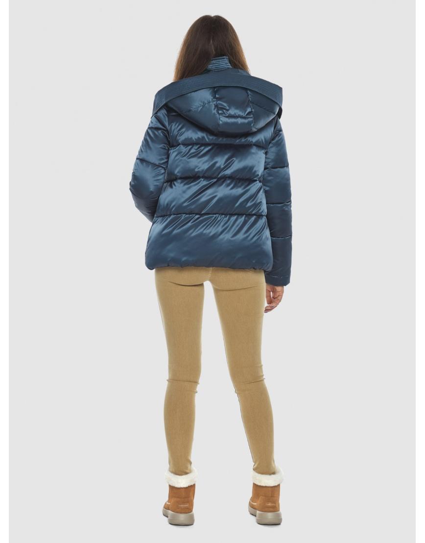 Куртка женская Ajento трендовая синего цвета 23952 фото 4