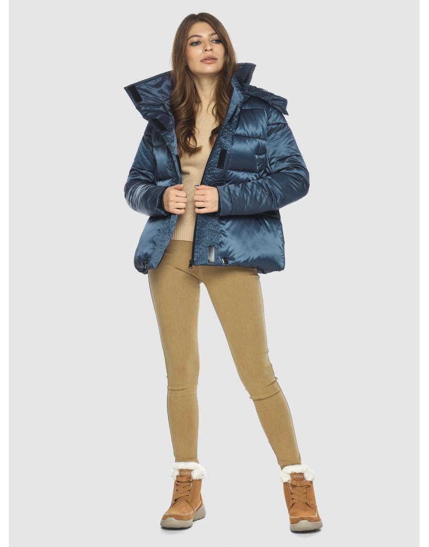 Куртка женская Ajento трендовая синего цвета 23952 фото 2