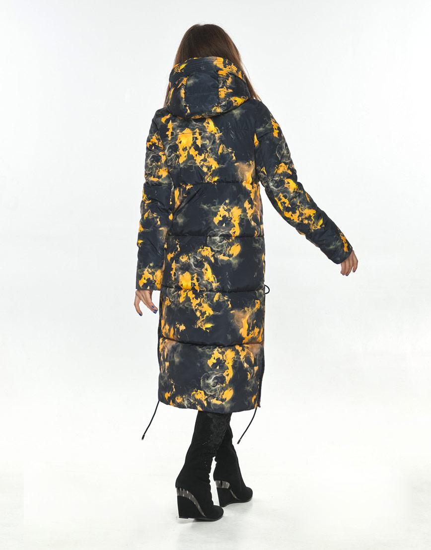 Куртка с рисунком зимняя женская Ajento 23160 фото 2