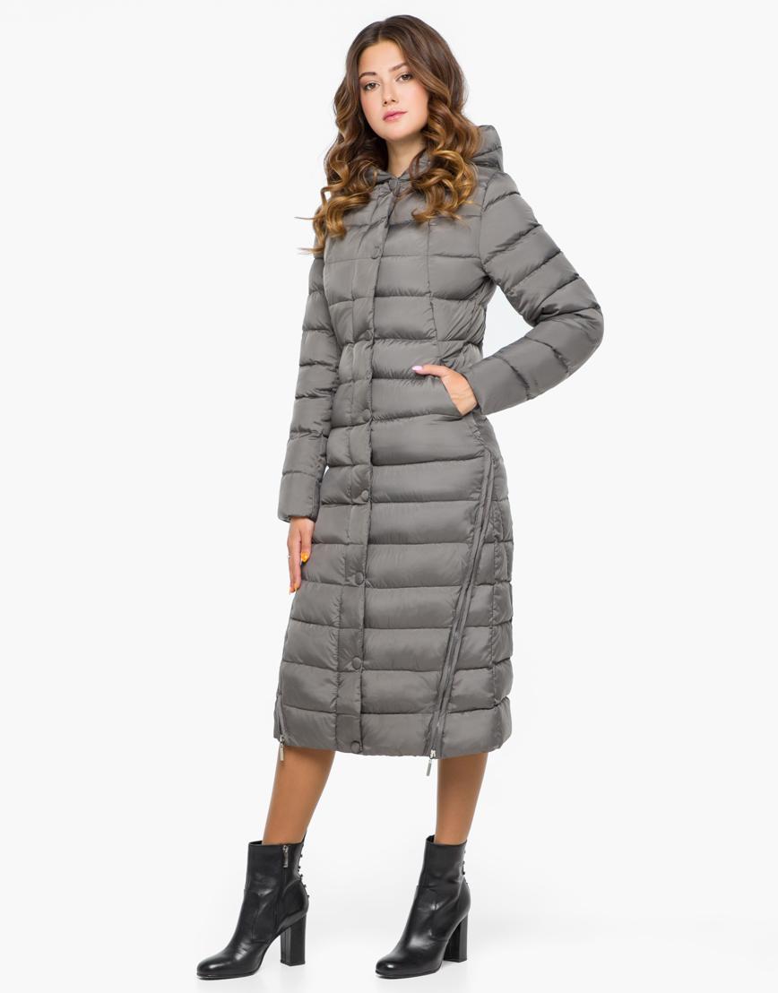 Куртка женская серого цвета модель 925