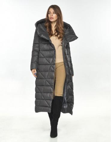 Женская серая куртка Ajento практичная 23795 фото 1