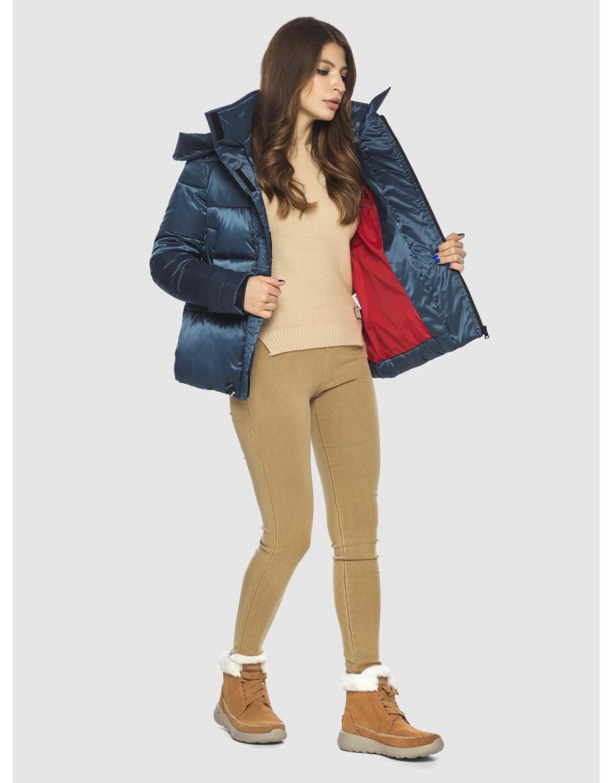 Куртка женская Ajento трендовая синего цвета 23952 фото 5