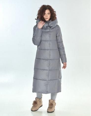 Куртка большого размера Moc комфортная серая женская M6530 фото 1