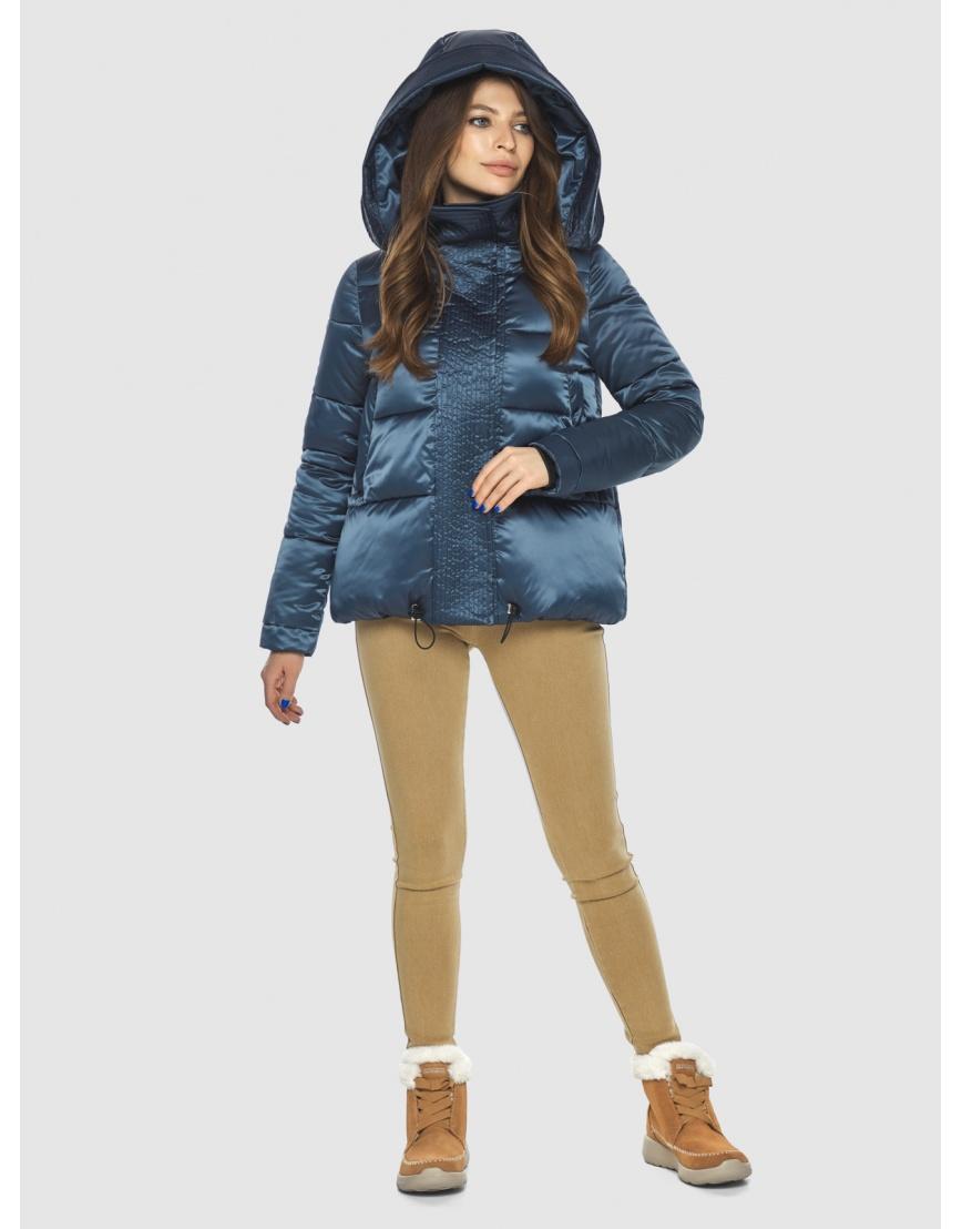 Куртка женская Ajento трендовая синего цвета 23952 фото 3