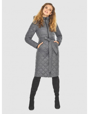 Тёплая женская куртка Kiro Tokao серая 60096 фото 1