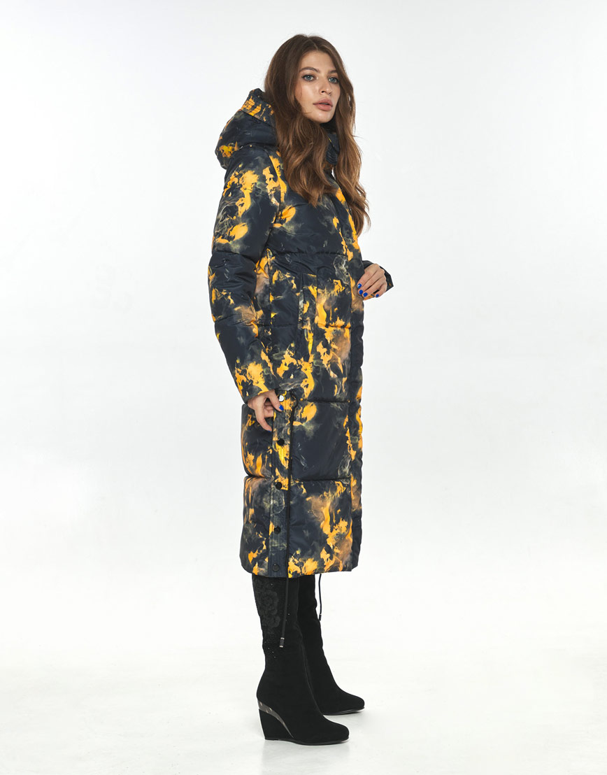 Куртка с рисунком зимняя женская Ajento 23160 фото 3